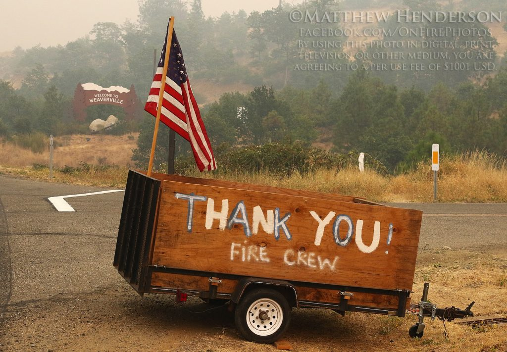 TRINITY COUNTY FIRE RELIEF FUND REACHES $100,000!