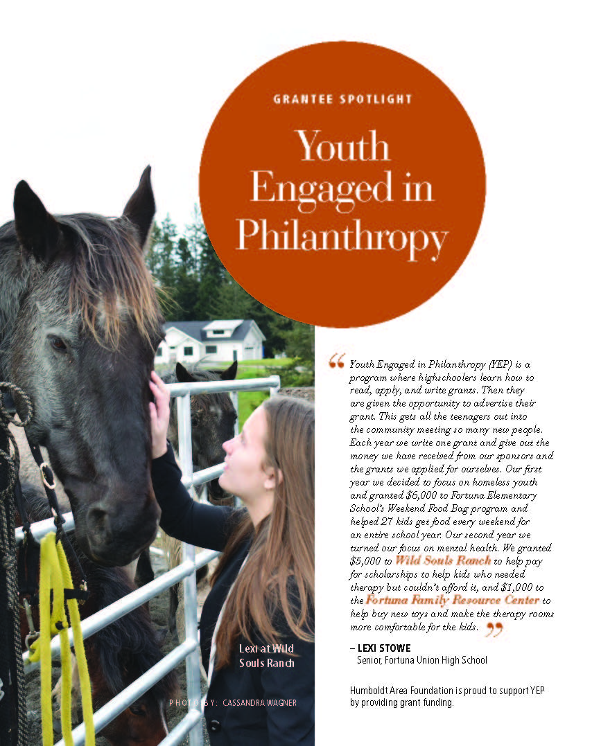 Grant Deadline for Youth Engaged in Philanthropy is Nov. 1